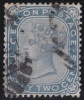 Ceylon        .    SG     .    128      .       O      .   Gebruikt    .    /  .   Cancelled - Ceylon (...-1947)
