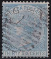 Ceylon        .    SG     .    129      .       O      .   Gebruikt    .    /  .   Cancelled - Ceylon (...-1947)