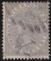 Ceylon        .    SG     .    132         .       O      .   Gebruikt    .    /  .   Cancelled - Ceylon (...-1947)