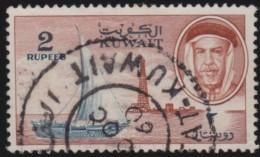 Kuwait       .    SG     .        Stamp      .       O      .   Gebruikt    .    /  .   Cancelled - Koeweit