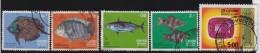 Sri Lanka         .    SG     .        5 Stamps      .       O      .   Gebruikt    .    /  .   Cancelled - Sri Lanka (Ceylon) (1948-...)