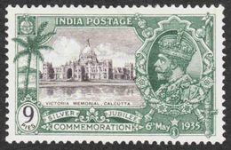 India - Scott #143 MH - 1911-35 Roi Georges V