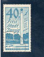 DANTZIG 1936 O - Danzig