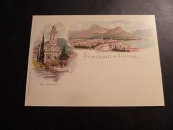 Souvenir De Lugano 2014 Esposizione Di Filatelia Nazionale - Stamped Stationery