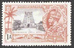 India - Scott #144 MH - 1911-35 Roi Georges V