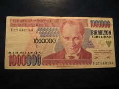 1000000 Lirasi 1970 TURKEY Turquie Circulated Banknote Billet Billete - Turquie