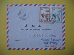 Lettre Du Cambodge Pour La France - Cambodia