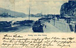 1899 !!!!!   AUSSIG VOM ALTEN HAFEN   Tsjechië Tchéquie Checoslovaquia Czech Republic República Checa - República Checa