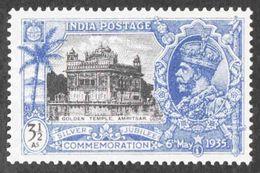 India - Scott #147 MNH - Gum Crease - 1911-35 Roi Georges V