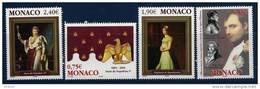 """Monaco YT 2442 à 2445  """" Napoléon 1er """" 2004 Neuf** - Monaco"""
