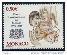 """Monaco YT 2436 """" Ecole Internationale """" 2004 Neuf** - Monaco"""