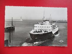 "CPA PHOTO 59 DUNKERQUE LE FERRY BOAT ""SAINT GERMAIN"" A L'ARRIVEE - Dunkerque"
