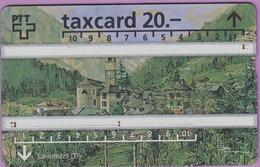 Télécarte Suisse °° 52 -Taxcard 20-Lavertezzo. - Schweiz