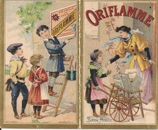 Petit Calendrier, Chromos Publicitaire De 1896 - Formato Piccolo : ...-1900