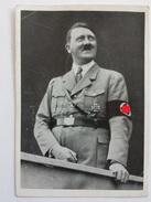 AK Adolf Hitler In Uniform Div. Stempel U.a. 3. Reichsführerlager Der HJ Weimar 1938 Graz Stadt Der Erhebung Nürnberg - Guerre 1939-45