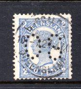 T1179 - QUEENSLAND , OS : 2 Pence Usato . Annullo . Servizio - 1860-1909 Queensland
