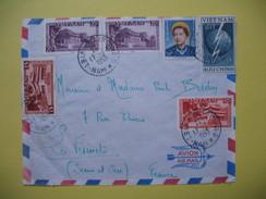 Lettre Du Viêt-Nam  - Saigon   Pour La France - Vietnam