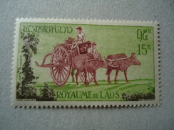 LAOS  MINT STAMPS OLD ANIMALS - Laos