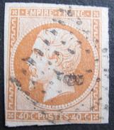 "Lot FD/55 - NAPOLEON III N°16 - LOSANGE BUREAU "" B "" DE PARIS BOULEVARD BEAUMARCHAIS - 1853-1860 Napoléon III"