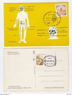 1984 SAN MARINO/ ITALY Museum PREHISTORIC MAN EVENT COVER Card Prehistory Stamps Postcard - Archaeology