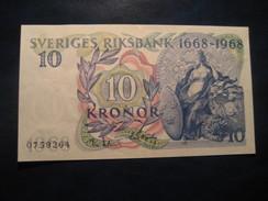 10 Kronor 1968 SWEDEN Suede Good Condition Banknote Billet Billete - Suède