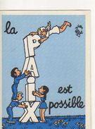 Jean EFFEL  La Paix C'est Possible, Enfants, Ange,carnet - Effel