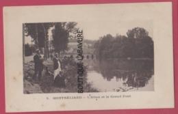 25 MONTBELIARD--L'Allan Et Le Grand Pont---animé - Montbéliard