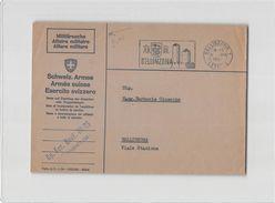 15813 HELVETIA BELLINZONA ESERCITO SVIZZERO Cp. Fuc. Mont. III 95 - Svizzera