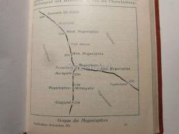Rosengartengruppe Catinaccio Valbuongruppe Gruppe Der Mugonispitzen Italy Austria Gravour Print 1928 - Maps