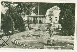Grave 1957; Speeltuin De Nachtegaal (deel Hotel Zichtbaar) - Gelopen. (J. Th. Peulings - Grave) Lees Info! - Pays-Bas
