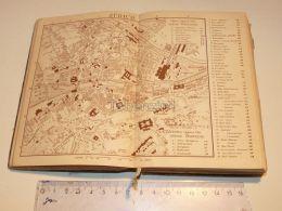 Zürich Zurich Schweiz Suisse Map Karte 1886 - Cartes Géographiques
