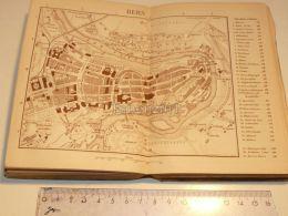 Bern Aar Fluss Schweiz Suisse Map Karte 1886 - Cartes Géographiques