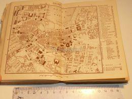 Genf Neue Hafen Schweiz Suisse Map Karte 1886 - Cartes Géographiques