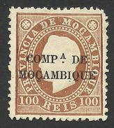Mozambique Company, 100 R. 1892, Sc # 7, Mi # 7, MH. - Mozambique