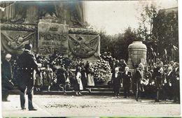 CARTE  PHOTO - PARIS - Cérémonie Du 14 Juillet 1919 - Au Pied Du Cénotaphe Président Et Généraux - - Otros Monumentos