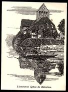 1925  --  L ANCIENNE EGLISE DE BEAULIEU   3N382 - Old Paper