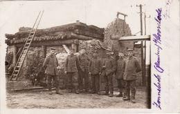 CP Photo Avril 1917 ZONNEBEKE - Station De Téléphone, Telefonzentrale (A185, Ww1, Wk 1) - Zonnebeke