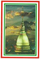 [DC1442] CPM - CARTOLINEA - TORINO CAPITALE D'ITALIA 1861-1865 - LA MOLE SI METTE IL COLLIER - Non Viaggiata - Mole Antonelliana