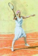 [DC1447] CPM - CARTOLINEA - TORINO - TENNIS ESIBIZIONE DI SUZANNE LENGLEN - MARZO 1926 - Non Viaggiata - Tennis