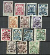 LETTLAND Latvia 1919 Lot Mint & Used - Lettonie