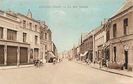 - Nord -ref-A767 - Aniche - Rue Thiers - Magasin Chaussures Jean - Magasins - Carte Bon Etat - - France