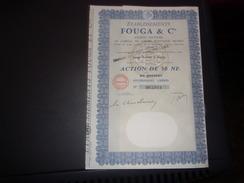 établissements  FOUGA & Cie - Unclassified