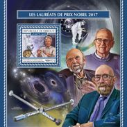 Djibouti 2017, Nobel Prize, Space, BF - Space