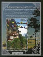 Bhutan 2015 Monasteries Taktshang Tiger's Nest Buddhism Buddha M/s MNH # 12783 - Bhutan