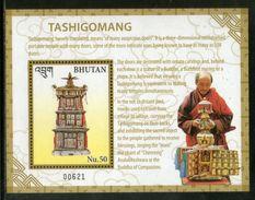 Bhutan 2016 Longevity Tashigomang Buddhism Buddha Of Compassion M/s MNH # 5964 - Bhutan