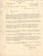 """Coupures De Journal D'époque/Une Manifestation """"Algérie Française""""dégénére/Le Député LE PEN Blessé/UNEF/Caen1961   VJ140 - Unclassified"""