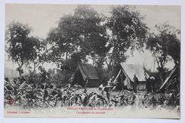 Congo Français Et Dépendances-Campement En Tournée. Collection J.Audema - Congo Français - Autres