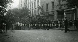 LIBERATION PARIS BARRICADE 19- 25 Août 1944 WWII - Oorlog, Militair