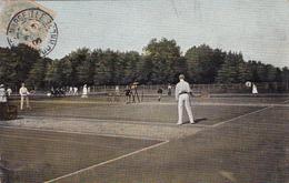 CPA Sport Jeu Tennis Vue Sur Plusieurs Cours De Tennis Joueurs De Tennis - Tennis
