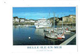 Cpm - 56 - Belle Ile En Mer - Port Du Palais - Jack - 1999 - Bateau Vindilis - Belle Ile En Mer